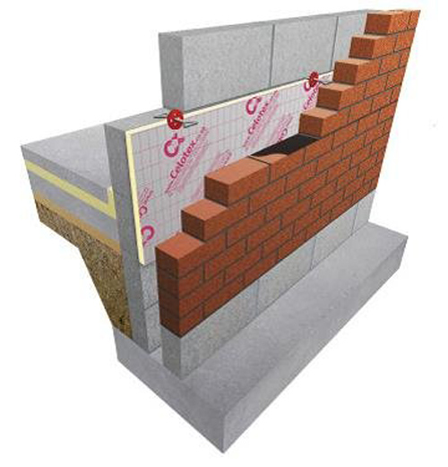 celotex cg5000 cavity insulation boards