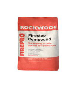 rockwool firetop compound