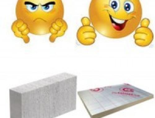 Aircrete Block v Insulation Materials
