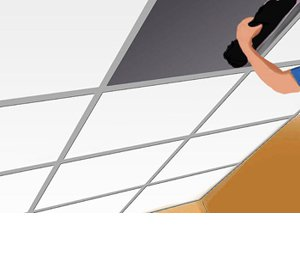 suspended ceiling tile insulation