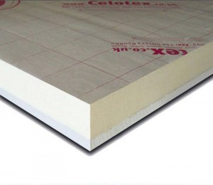 celotex insulated plasterboard